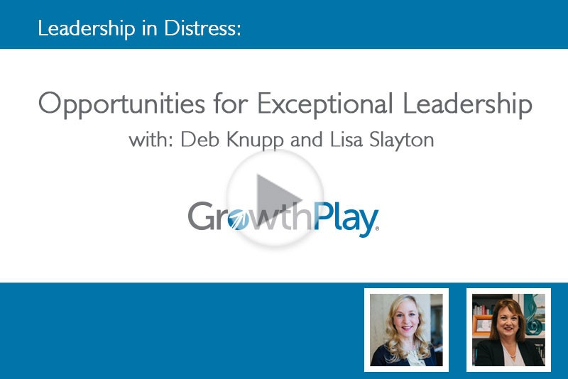 Opportunities for Exceptional Leadership