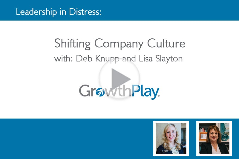 Leadership in Distress: Shifting Company Culture